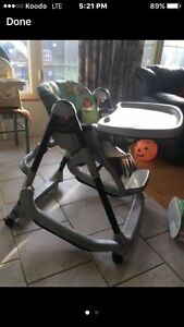 Prima pappa rocker high chair