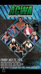 ACWA wrestling returns to Cape Breton this weekend