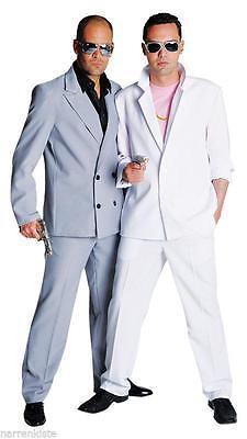 Anzug Kostüm Gangster Polizei Miami Vice FBI SWAT Mafia Personenschutz -
