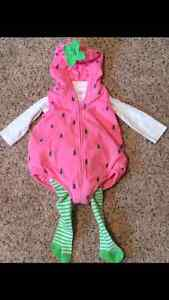 Carters 6-9 months strawberry Halloween costume