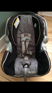 Graco car seat and extra base