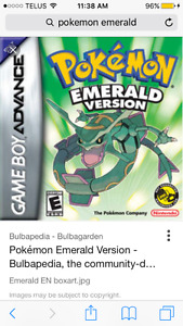 LF Pokemon Emerald for GBA