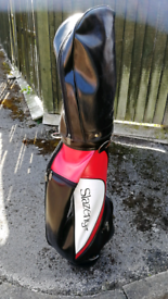 Golf bag slazenger red black