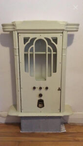 Wall Cabinet made from 1930s Radio