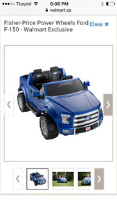 Ford F-150 power wheels ride on truck