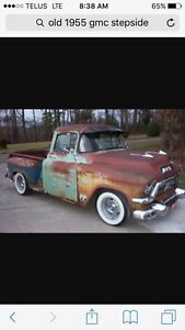 Wanted 1955 1957 gmc project truck