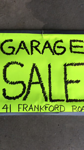 Purging.....4 family blowout 41 Frankford Rd STIRLING