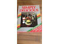 Simply delicious cook book