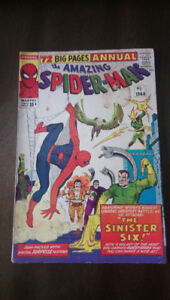 Comic Book: The Amazing Spiderman issue#1 1964 Annual $500 OBO