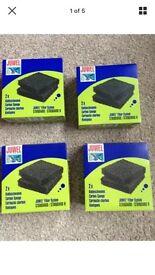 Genuine BNIB Juwel Fish Tank Carbon Sponges
