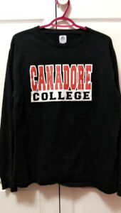 Unisex Long Sleeve Canadore College Shirt