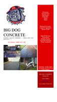BIG DOG CONCRETE
