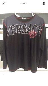 Men's Versace long sleeve M