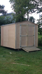 QUALITY BUILT STORAGE SHEDS/BABY BARNS BUILT ON SITE IN 1 DAY!