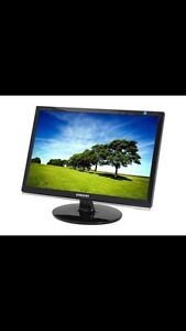 "Samsung 22"" wide screen LCD monitor"