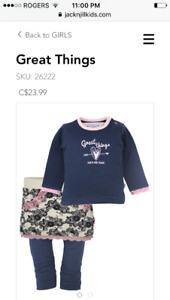 3pc girls outfit brandnew