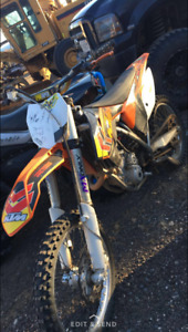 Looking to trade my 2013 ktm 350sxf