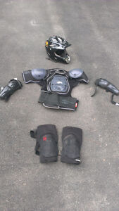 NEW PRICE ** $50 for all off it (Downhill mountain bike gear)
