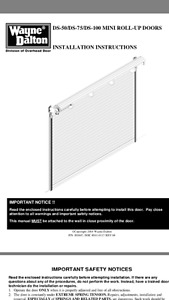 STEEL SECURITY ROLL UP DOORS