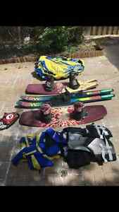 Wake board/ tube package plus more