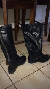Black tall boots size 11 London Ontario image 1