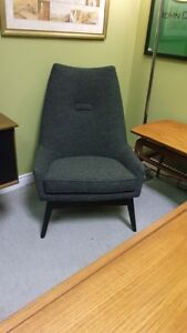 Mid Century Modern High Back Lounge Chair and more Teak