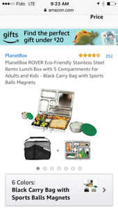 Planetbox Rover Eco-friendly stainless steel lunch box and bag