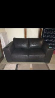 Leather lounge Dianella Stirling Area Preview
