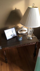 Coffee table plus 2 matching side tables