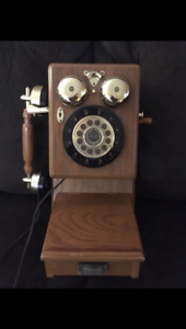 Antique appearance home telephone - excellent condition