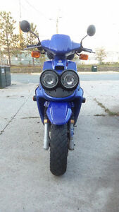 Yamaha 50/Aftermarket exhaust/3850km/last chance before stored.
