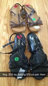 Sandals new. Kingston Kingston Area image 1