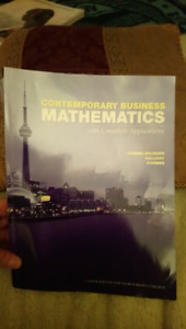 Contemporary business mathematics