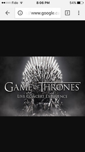 GAME OF THRONES 3 MARS CENTRE BELL