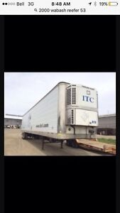 2000 Wabash 53' Reefer T/A TermoKing Trailer