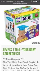 My baby can read! New in box