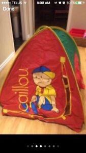 Children play tunnel tent set