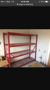 Snap on  shelving Strathcona County Edmonton Area image 1