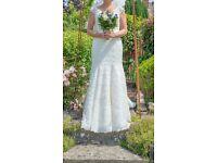 Stunning designer wedding dress