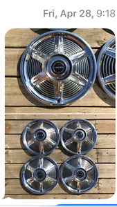 1964 MUSTANG WHEEL COVERS