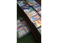 Huge original 40 disney classics from 1990+ VHS with tv combi too! Collectors- thingwall