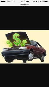 CASH FOR SCRAP CARS, SAME DAY FREE TOWING $300 (647)403-8542