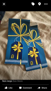 2x 50$ best buy gift cards