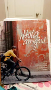 *BRAND NEW* Hola Amigos spanish textbook, 3rd Canadian Edition