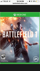 Battlefield One Xbox One For Sale