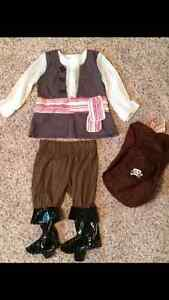 Old Navy toddler size 2 Pirate Halloween costume