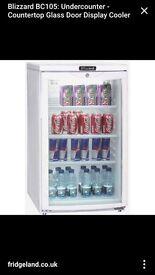 Drinks/beer fridge with lock