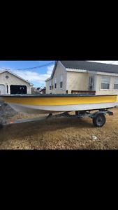14 foot fibreglass boat