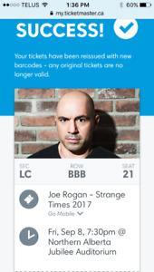 Joe Rogan LC Row B Seat 21