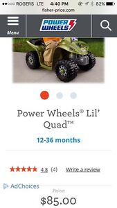 Fisher Price Power Wheels Lil' Quad